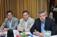 Rojas en la reunión de la comisión directiva del Consejo Portuario Argentino