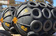 Renovación de las defensas neumáticas de sus muelles de exportación