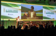 Sarquís alentó a los productores a sembrar más