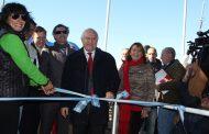 Con fuerte apoyo de Santa Fe quedó inaugurada la muestra a campo abierto más grande de América