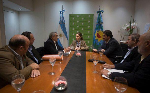 La gobernadora Vidal recibió a Coninagro