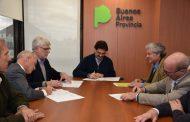Sarquís firmó convenios con Maizar, ArgenTrigo, Acsoja y Asagir
