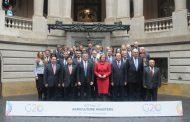 Comenzó la reunión de ministros de Agricultura