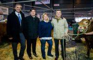 El presidente de la SRA recibió a Etchevehere en la Exposición Rural