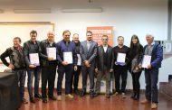 Con apoyo del INYM, seis secaderos recibieron certificados en BPM