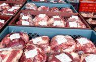 Volumen de exportación de carne