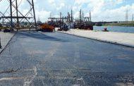 """ROJAS: """"Seguimos trabajando con obras para mejorar la logística interna de Puerto Quequén"""""""