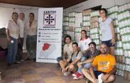 Canalizó la donación de yerba mate para afectados por la inundaciones en Corrientes
