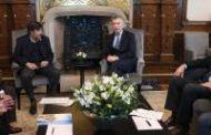 Macri se reunió con las entidades
