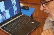 Basterra mantuvo una videoconferencia con la Mesa de Enlace