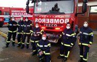 Junto a IVECO, nueve bomberas del sur del país realizan sus tareas en ejemplo de vocación y servicio.