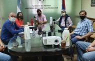 Reunión con el Ministerio del Agro para coordinar trabajos en conjunto