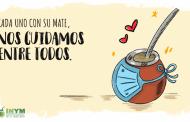 """El INYM lanzó la campaña """"Cada uno con su mate, nos cuidamos entre todos"""""""