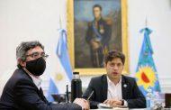 Kicillof encabezó reuniones con representantes de sectores agroindustriales