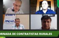 Los contratistas rurales se hicieron escuchar