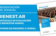 Presentaron el protocolo de evaluación de bienestar animal en engorde a corral
